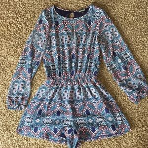 Express women's romper long sleeve size small